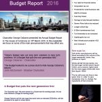 Budget Report - 2016